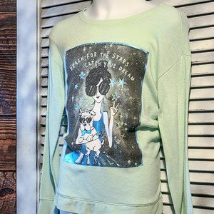 Justice Sz 10 Reach for the Stars Top